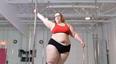女子体重达近300斤,竟是个钢管舞表演家!
