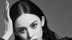 古力娜扎黑白写真凸显高级脸,高挑身材赶超模特