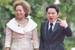 王祖蓝与杜丽莎《跨界歌王》红毯秀