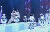 武术表演《中国功夫》 科技文化完美结合