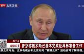 普京称俄罗斯已基本完成世界杯准备工作
