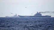 俄唯一航母出征中东一路喷黑烟 被嘲是