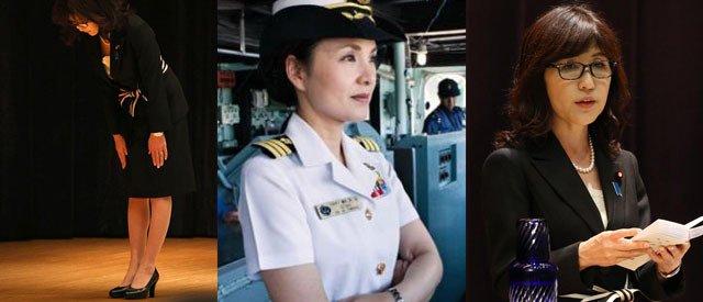 上下全换女人:日女舰长率200男兵监视中国军舰