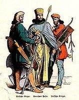 古波斯贵族及士兵的服装图片