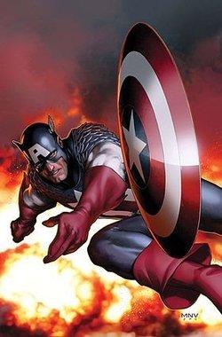 在数年后,美国队长漫画在不同国家获得数百万份的销量.