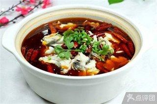 杨记老鸭汤泡美食美味石锅鱼1份的锅巴德国英文图片