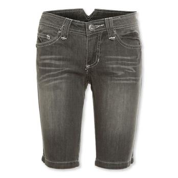 瘦腿牛仔短裤女
