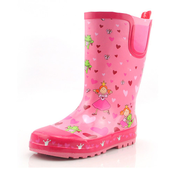 时尚 儿童雨鞋