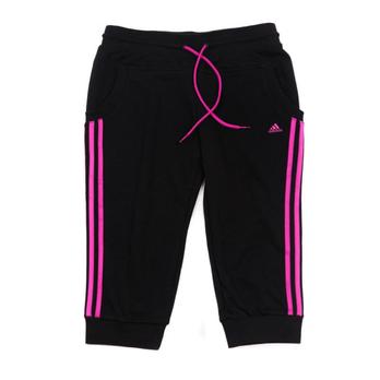 adidas 阿迪达斯 女款运动裤中长裤z47611 女士运动裤 运