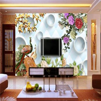 【卧室无缝墙布效果图】:无缝墙布的缺点