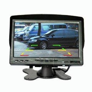 7寸遮阳式台式车载显示器,支持