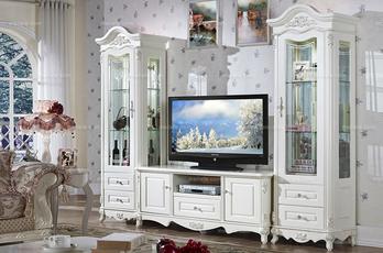 法式风格法式品牌客厅家具 组合柜展示韩菲尔