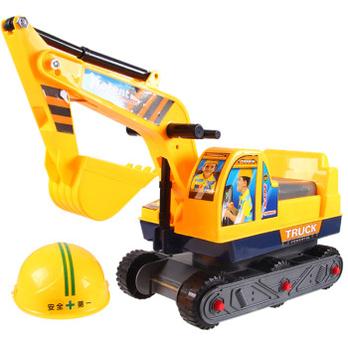 助力挖土机益智玩具掘土机儿童玩具挖掘