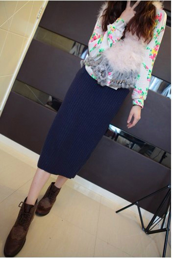 2012秋冬新款女装半身裙外单搭配新品 超复古