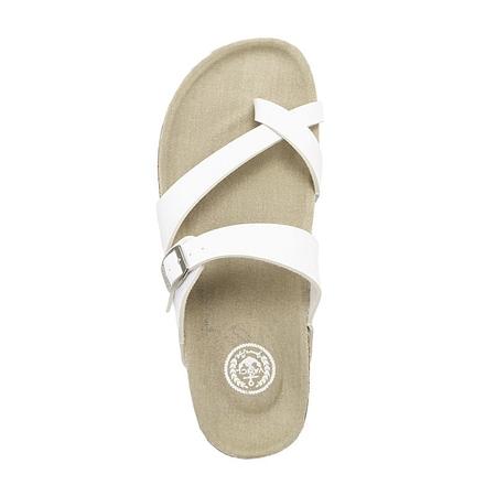 白色 - 女士拖鞋/凉