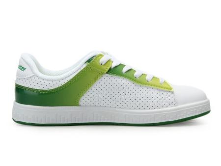 女板鞋 白色/绿色