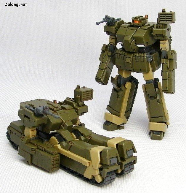 H106骆驼变形坦克两件装