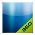 360桌面主题-颜色系列深邃蓝 安卓最新官方正版