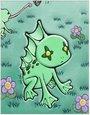 罗达蛙卡片