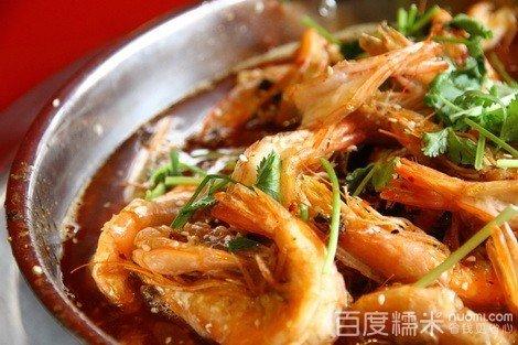 鲜虾火锅!精选新鲜食材,美味可口,约上好友一起海南英州镇美食城清水湾图片