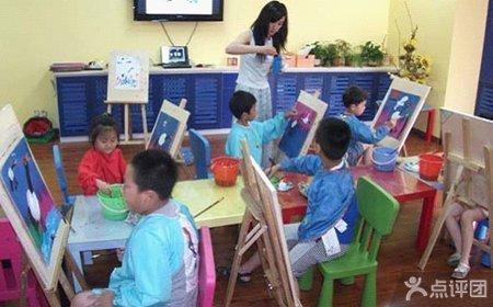 枫丹美术学校儿童创意画课程2次
