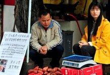 女大学生休学卖红薯为弟治病
