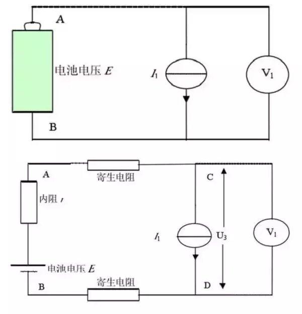 蛣2恒流源负载等效原理框图和实际等效电路图