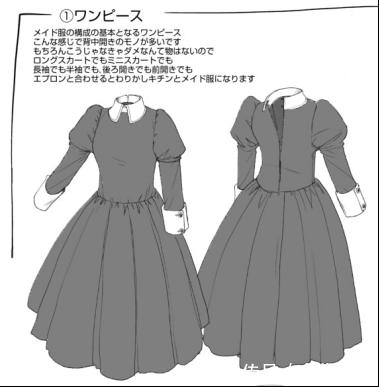 【作画情趣】彻底解说资料装的女仆和种类!围酒店护士合肥画法图片