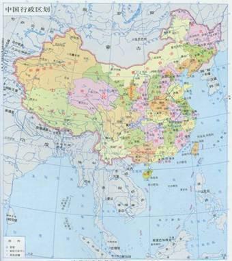 地球科学 中国地图上的名山大川的位置,有谁知道中国地图上的名山大川