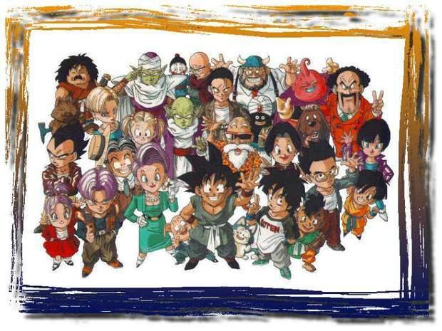 七龙珠悟空全家福图片,要悟空,悟饭,悟天都是成人的