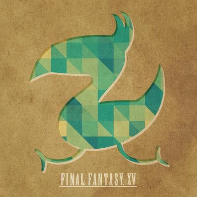 最终幻想15陆行鸟壁纸放出