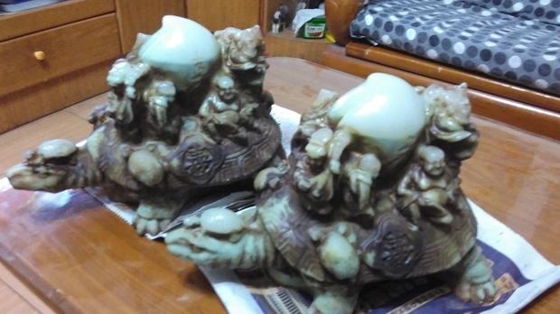 有懂八仙过海长寿龟的吗?求鉴定