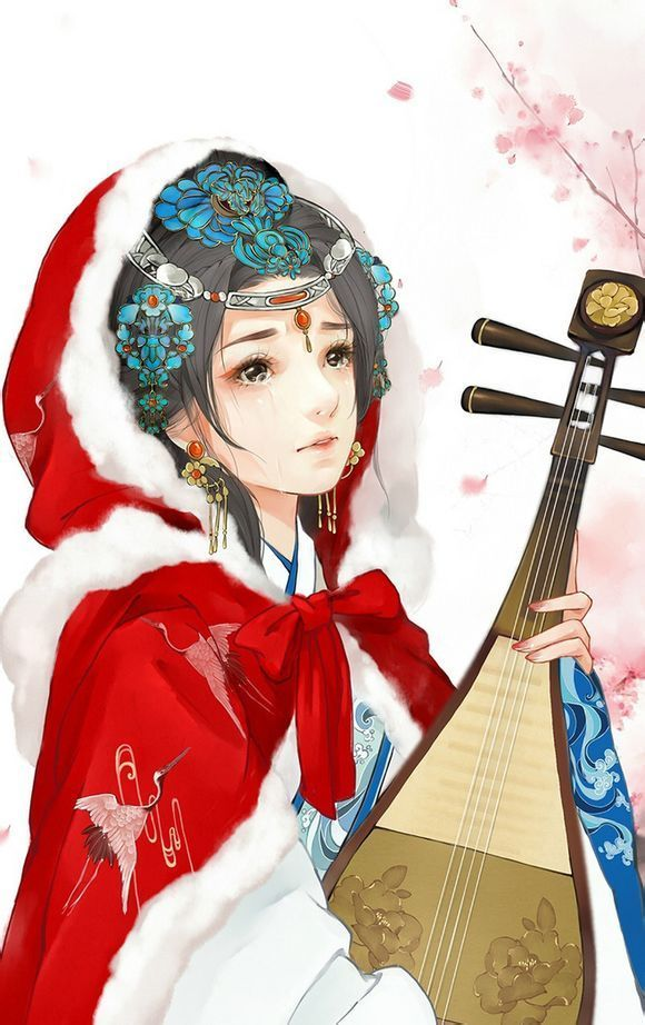 音乐 求古风美女或者美男的图片  16898988:大部分是古风手绘