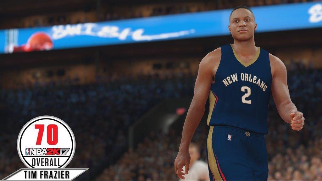 NBA2K17球员能力值实时更新