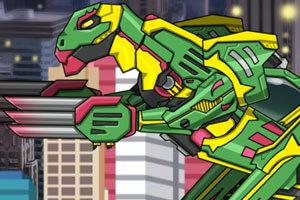 组装机械小恐龙,组装机械小恐龙小游戏,360小
