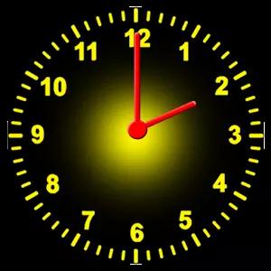 时钟矢量图空白