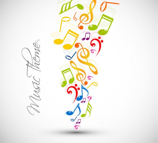 音符画画出的简单音符图案