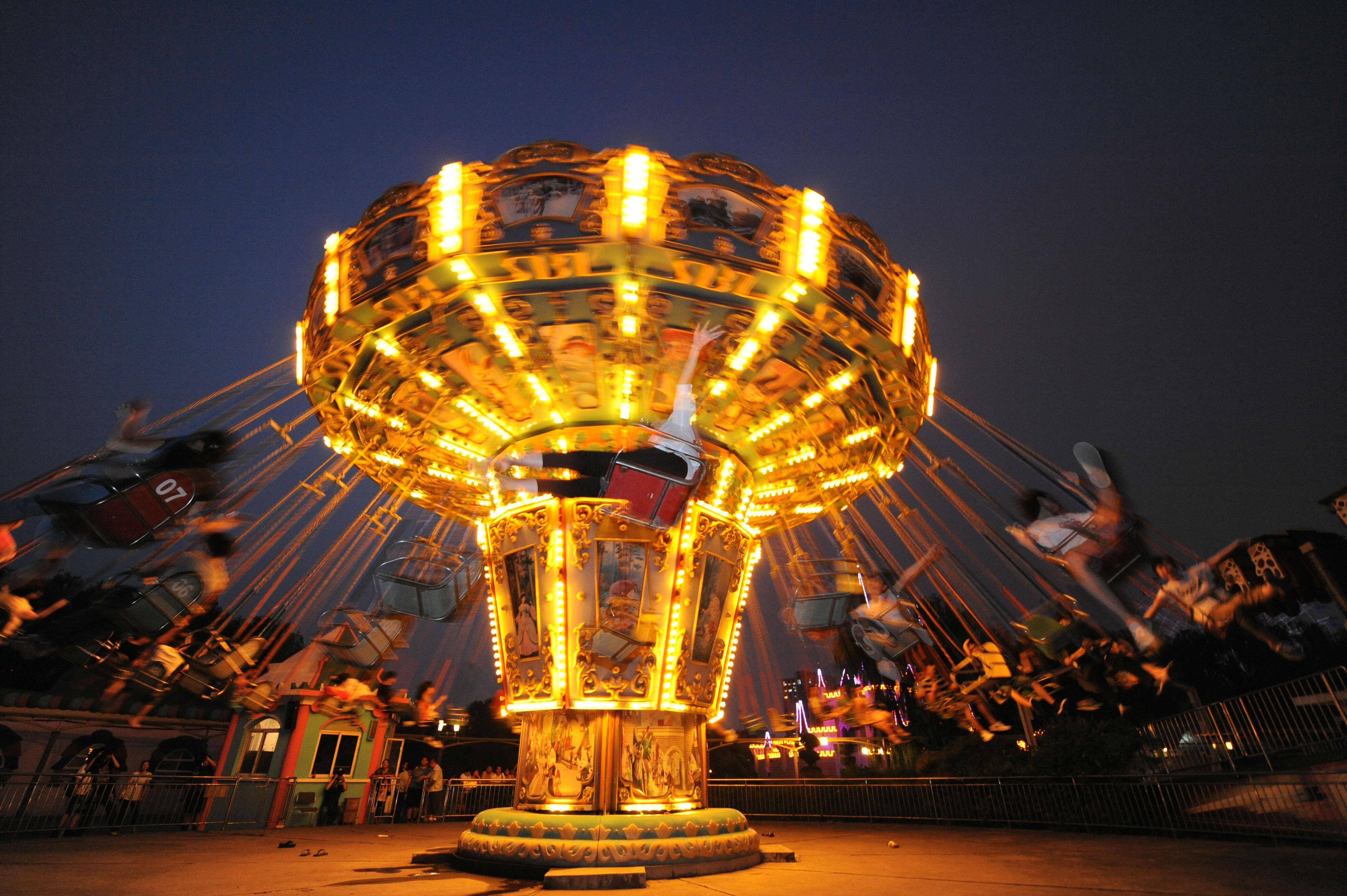 石景山游乐园图片