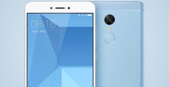 红米Note 4X浅蓝色版开卖 3G+32GB版本仅需999元