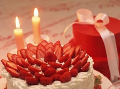 欧式长寿面生日蛋糕图片