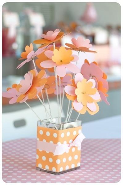 蝴蝶纸花的折法图解