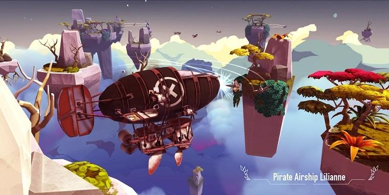 《空中之心:折翼传说》游戏截图