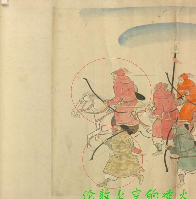 元朝大军征讨日本时带了什么武器?