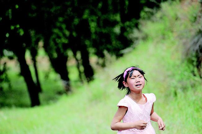 儿童节愿望见妈妈一面 留守儿童不舍追车跑 - fdycq - 费家村----老费的三角梅花园