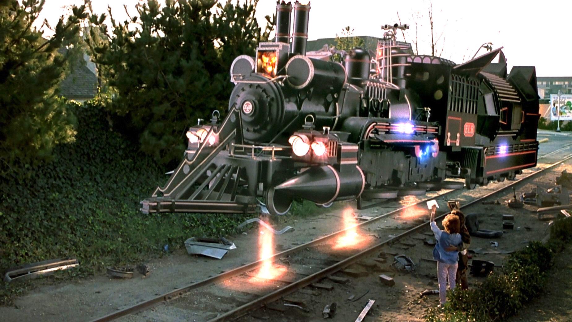 火车也能玩穿越,博士发明超酷时光火车!5分钟看完《回到未来3》