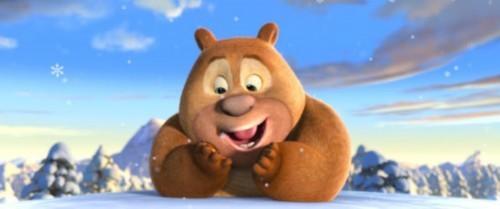 求熊出没里面的熊二小时候的照片