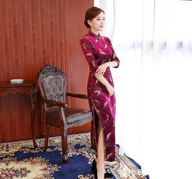 听说旗袍搭配这样的高跟鞋,回头率300%