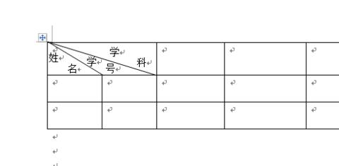 在word的表格中绘制斜线多条_360v表格室内设计说课图片
