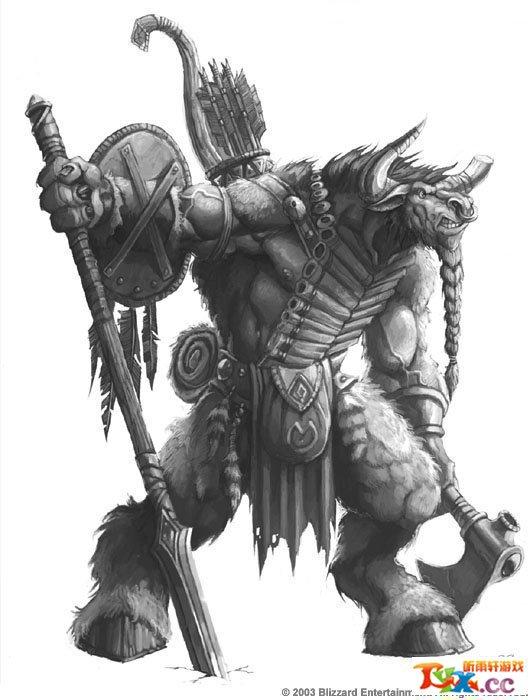 牛头人酋长:tauren chieftain