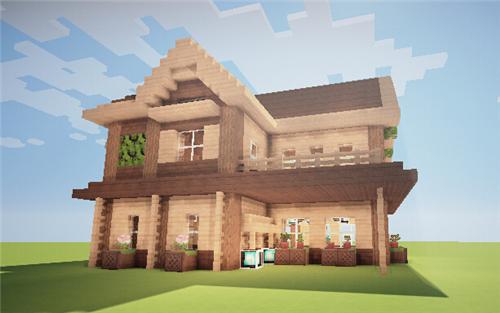 我的世界别墅设计图 豪华漂亮的房子设计图一览